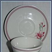 Rego Castille Cup & Saucer