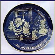 Joy of Christmas Collectible Lindner Kueps Bavaria Plate