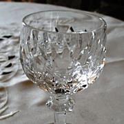 Gorham La Scala Crystal Cordial Glass
