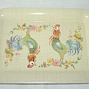 Mini Snack Nut Trays ~ Set of 8 ~ Rooster Theme