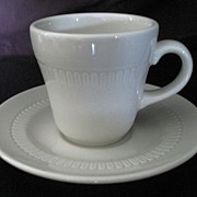 Syracuse Demitasse Cups & Saucers ~ Set of 6