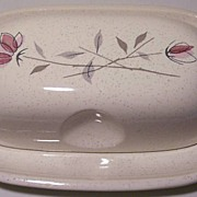 Franciscan Duet Covered Butter Dish
