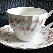 Franciscan Brides Bouquet Tea Cup and Saucer