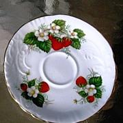 Hammersley Strawberry Ripe Demitasse  Orphan Saucer