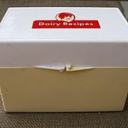 Vintage Dairy Recipe Box Cathy Crowley