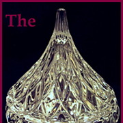 Hershey's Chocolate Crystal Kiss Candy Dish with Box by Jonal