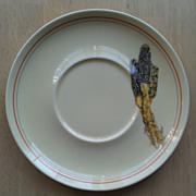 W S George Indian Corn Saucer