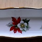 P.S. Poinsettia Dish