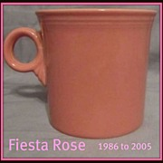Homer Laughlin Fiesta® Rose Mug