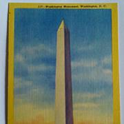 Vintage Postcards, Scenic Art Series, Washington DC