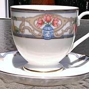 Gorham Fine China Jardiniere Cup & Saucer