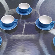 Winfield Blue Pacific Cup & Saucer Set