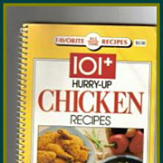 101+ Hurry-Up Chicken Recipes ~ Free Shipping