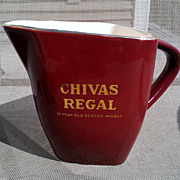 Chivas Regal Scotch Whiskey Pitcher by Wade Potteries