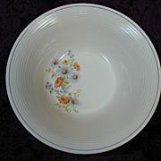 American Limoges Triumph Blue Daisy Vegetable Bowl