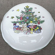 Nikko Christmastime Covered Candy Dish