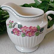 Wedgwood Garden Club apple Blossom Pattern AK8565 Creamer
