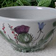 Buchan Pottery Thistle Ware Open Sugar #189/5 Scotland