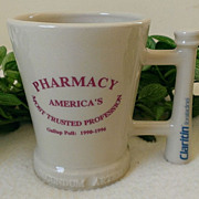 "Schering ""Pharmacy - Most Trusted Profession"" Commemorative Mug McCoy"