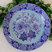 "SALE PENDING Spode Archive Collection Jasmine 10"" Bowl Blue/Lilac"