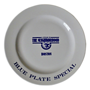SALE PENDING A Steak in the Neighborhood Boston Chop Blue Plate Special by Homer Laughlin