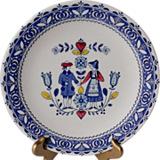 SOLD Johnson Brothers Hearts & Flowers Dinner Plate
