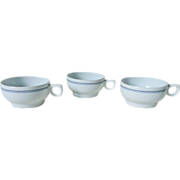 Northwest Airlines First Class Coffee Cup Set
