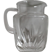 Federal Glass Star Pitcher 64 oz