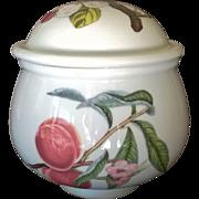 Portmeirion Covered Sugar Pomona Pattern