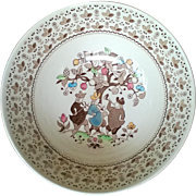 """Johnson Brothers Sugar & Spice Brown 8"""" Vegetable Bowl"""