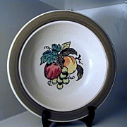 Metlox Poppytrail Provincial Fruit Serving Bowl