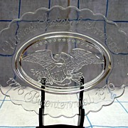 Avon Commemorative Bicentennial Oval Plate