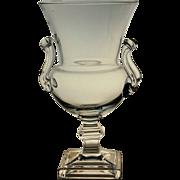 SALE Duncan Miller Vase Crystal Grecian Urn Mid Century Modern Design Vintage MCM
