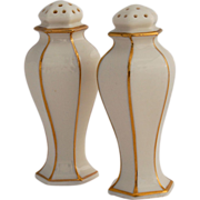 SALE American Belleek Lenox Salt and Pepper Shakers ca. 1906-1924