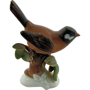 SALE Rosenthal Germany Bird Figurine Hugo Meisel Number 649 Porcelain Brown Bird