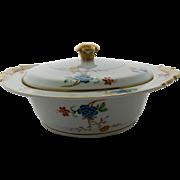 Vintage Limoges Bernardaud Riviera Round Covered Vegetable Serving Bowl 10 Inches
