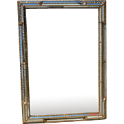 SALE Spectacular Vintage Hollywood Regency Style Multi Faceted Mirror