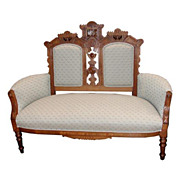 REDUCED 3011 Nice 19th C. Eastlake Antique Sofa