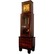 SALE 4654 Beautiful Art Deco Tall Case Clock