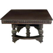 SALE 5167 American Mahogany Dining Table