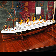 SALE 5508 Fantastic Model of the Titanic c. 1920