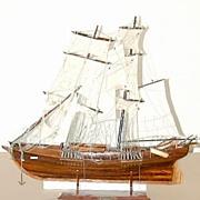 SALE 5511C Fantastic 19th C. Galleon Ship Model