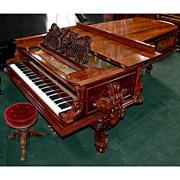 "SALE 5532 Antique Steinway Fancy ""D"" Grand Piano"