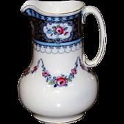 SALE 5826 English Porcelain Wash Pitcher