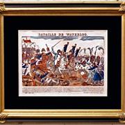 "SALE 6866 ""Bataille De Waterloo"""