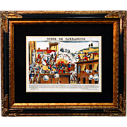 "SALE 6873 Napoleon Print - ""Siege De Sarragosse"""