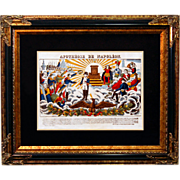"""SALE 6879 Napoleon Print - """"Apotheose De Napoleon"""""""