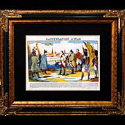 "SALE 6889 Napoleon Print - ""Capituation d'Ulm"""