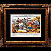 "SALE 6892 Napoleon Print - ""Chacun Son Metier"""