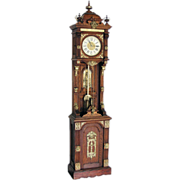 "SALE 7564 Original Ansonia Clock Company ""Antique Standing"" Floor Clock"